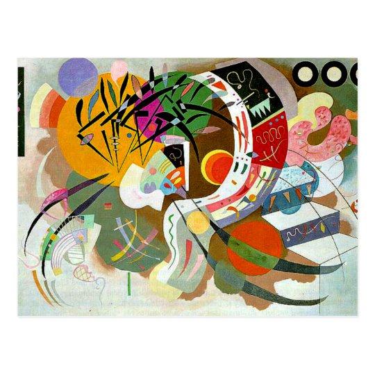 Kandinsky - Dominant Curve Postcard