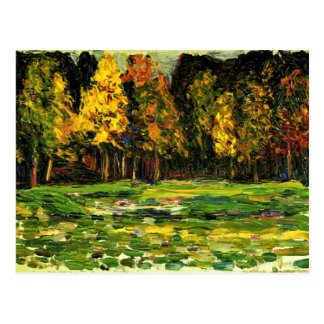Kandinsky - Forest Edge Postcard
