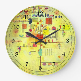 Kandinsky - Gentle Accent Large Clock