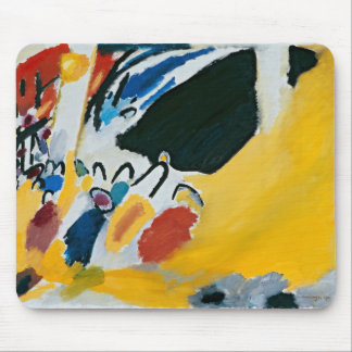 Kandinsky Impression III Concert Abstract Painting Mouse Mat