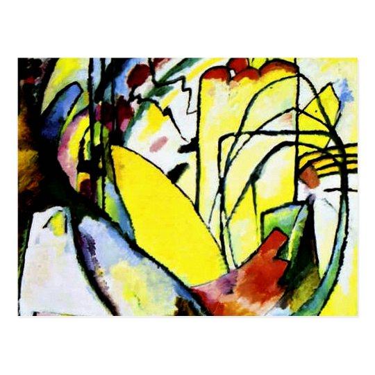Kandinsky - Improvisation 10 Postcard