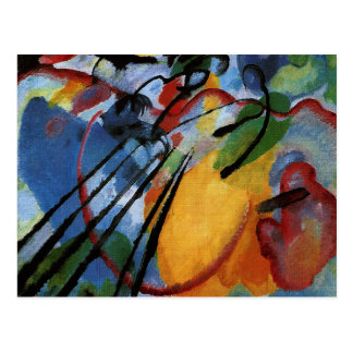 Kandinsky - Improvisation 26, Rowing Postcard