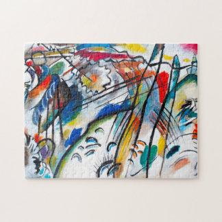 Kandinsky Improvisation 28 Puzzle