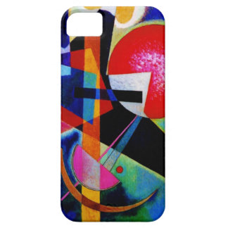 Kandinsky in Blue Abstract Painting iPhone 5 Cases