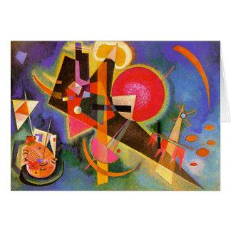 Kandinsky In Blue Greeting Card