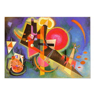 Kandinsky In Blue Invitations