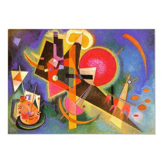 Kandinsky In Blue Invitations