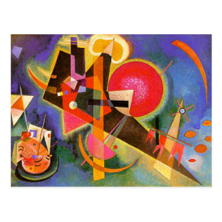 Kandinsky In Blue Postcard
