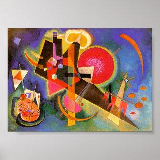 Kandinsky In Blue Poster