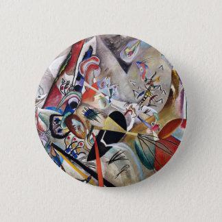 Kandinsky In Gray Button
