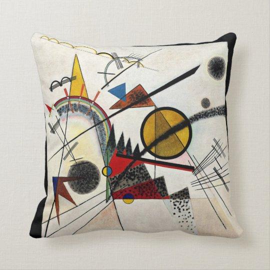 Kandinsky - In the Black Square Cushion
