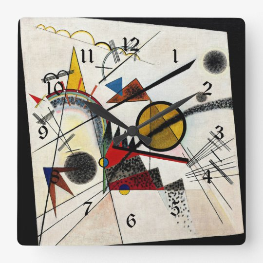 Kandinsky - In the Black Square Square Wall