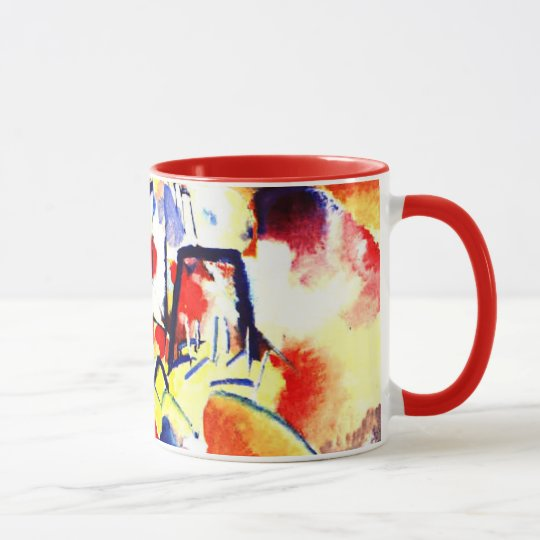 Kandinsky - Landscape with Red Spots Mug