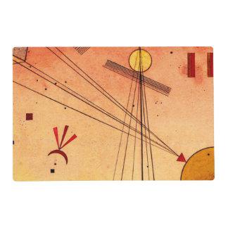 Kandinsky - Light Attachment Laminated Place Mat