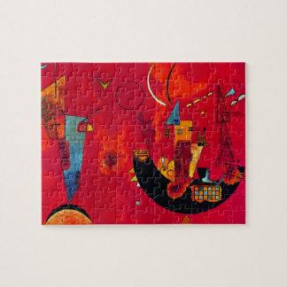 Kandinsky Mit und Gegen Jigsaw Puzzle