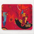 Kandinsky Mit und Gegen Mouse Mat