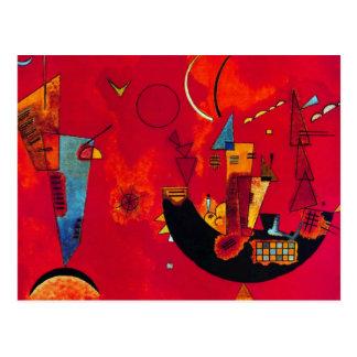Kandinsky Mit und Gegen Postcard