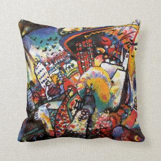 Kandinsky Moscow I Throw Pillow
