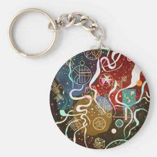 Kandinsky Movement I Key Chain
