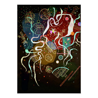 Kandinsky - Movement I Poster