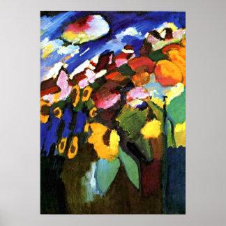 Kandinsky - Murnau Garden Poster