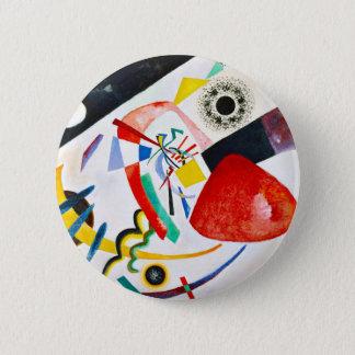 Kandinsky Red Spot Button