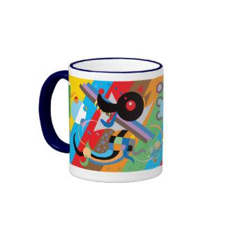 Kandinsky s Puppy Mug