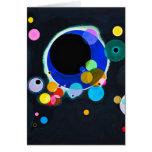 Kandinsky Several Circles Greeting Card