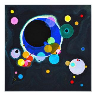 Kandinsky Several Circles Invitations