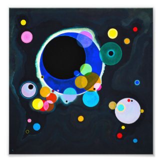 Kandinsky Several Circles Print Photo Print