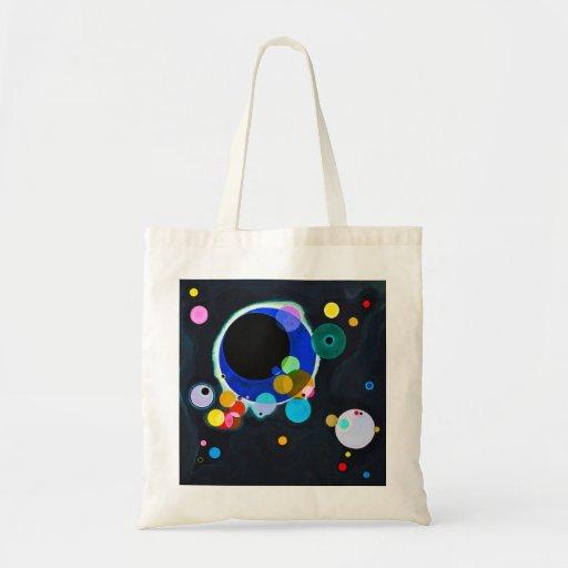 Kandinsky Several Circles Tote Bag