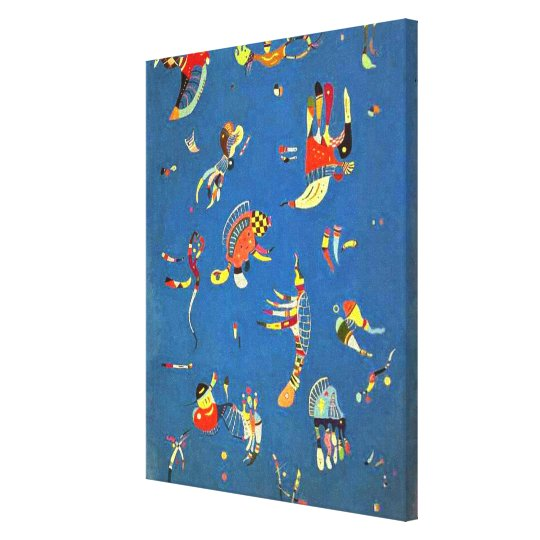 Kandinsky - Sky Blue Canvas Print