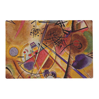 Kandinsky - Small Dream in Red Laminated Place Mat