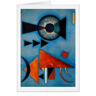 Kandinsky Soft Hard Abstract Card