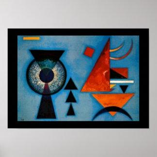 Kandinsky Soft Hard Abstract Poster
