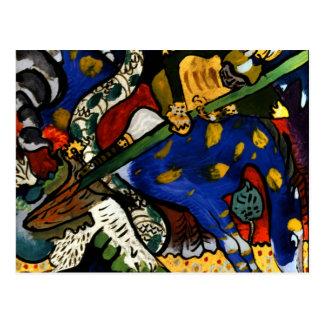 Kandinsky - St. George I Postcard