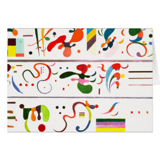 Kandinsky Succession Greeting Card