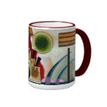 Kandinsky - Swinging Ringer Coffee Mug