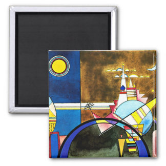 Kandinsky - The Great Gate of Kiev Magnet