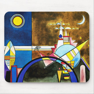 Kandinsky - The Great Gate of Kiev Mouse Mat