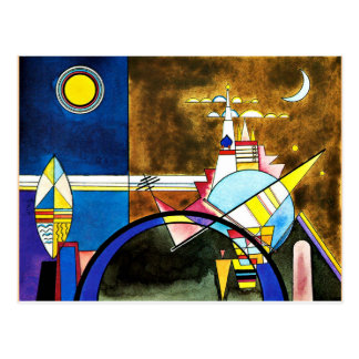 Kandinsky - The Great Gate of Kiev Postcard