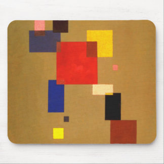 Kandinsky Thirteen Rectangles Abstract Painting Mouse Mat