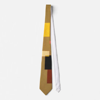 Kandinsky Thirteen Rectangles Abstract Painting Tie