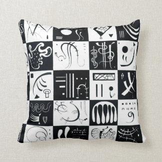 Kandinsky Thirty Throw Pillow