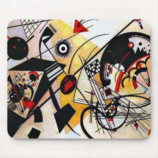 Kandinsky - Throughgoing Line Mouse Mat
