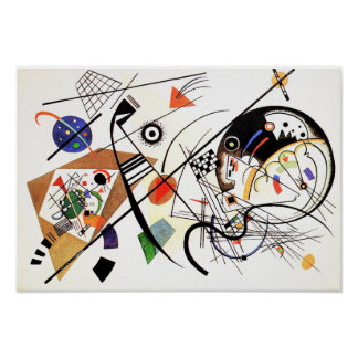 Modern Art Posters from Zazzle