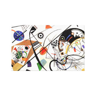 Kandinsky Tranverse Line Gallery Wrapped Canvas