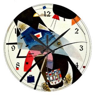 Kandinsky - Two Black Spots Clocks