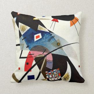 Kandinsky - Two Black Spots Cushion