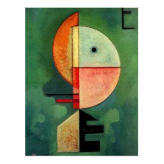 Kandinsky Upward Abstract Painting Postcard